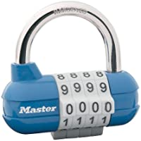 Master Lock 1534D Set-Your-Own Combination Lock, 2-5/16-inch