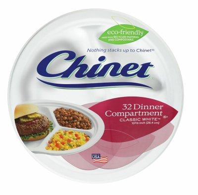 "Huhtamaki Retail Business 32227 32CT 10-3/8"" WHT Plate"