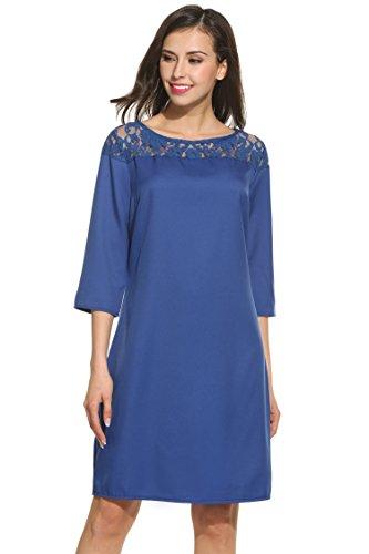 3 4 Length Sleeve Dresses - 6