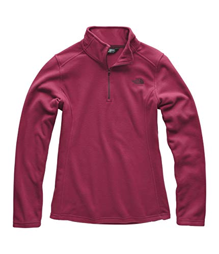 (The North Face Women Glacier Quarter Zip - Rumba Red - XS )