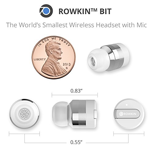 33000bc052d TRULY WIRELESS STEREO PAIRING VIA BLUETOOTH®: Pairing 2 cordless earbuds  wirelessly like Apple AirPods, making it the smallest stereo Bluetooth  headset on ...