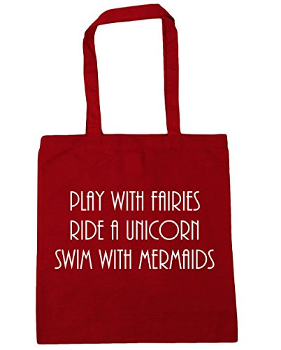 Shopping with 42cm Mermaids Bag Play with Classic a Gym Red litres Beach Tote HippoWarehouse Fairies Unicorn 10 Swim x38cm Ride 0pvx8wwq6