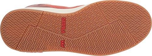 Supra Herren Vaider 2.0 Hohe Sneakers Cayenne/Brick Red/Bone White