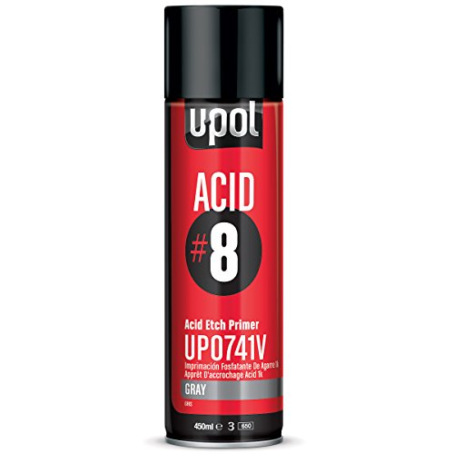 U-Pol Products Gray ACID#8 Etch Primer - 450ml by U-Pol