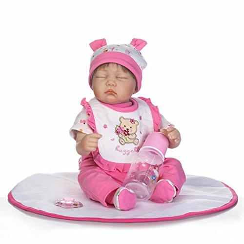 Doll Realista Renacido Muñecas Bebé Paño Cuerpo con Imán ...