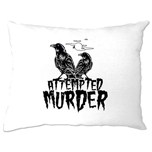 Tim And Ted Halloween Pillow Case Attempted Murder