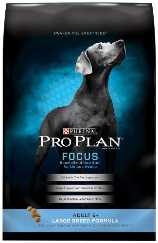 34 Lb Adult Dog - Purina Pro Plan Dry Dog Food, Focus, Adult 6+ Large Breed Formula, 34-Pound Bag, Pack Of 1