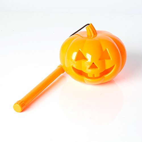 Halloween Decoration Pumpkin Ghost Lights 4.3 x 3.9 inches Masquerade Party Supplies Plastic Hand Portable Lanterns for (Ghost Town Halloween Party)