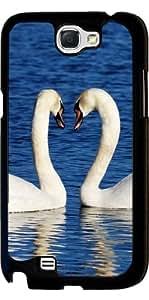 Funda para Samsung Galaxy Note 2 (GT-N7100) - Besar Ave Cisne by WonderfulDreamPicture