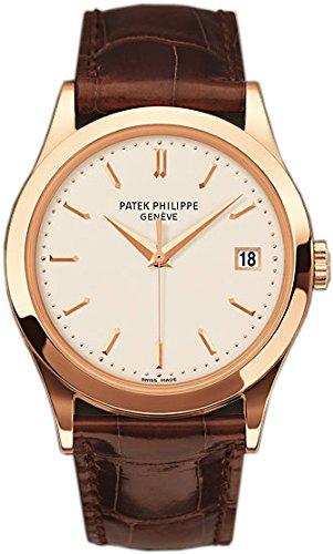 PATEK PHILIPPE CALATRAVA de hombre 18 K oro rosa reloj - 5296r-010: Patek Philippe: Amazon.es: Relojes
