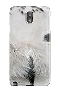 For Galaxy Case, High Quality White Owl For Galaxy Note 3 Cover Cases