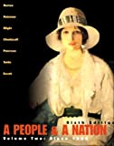 img - for A People and a Nation: A History of the United States (Volume II, Since 1865) book / textbook / text book