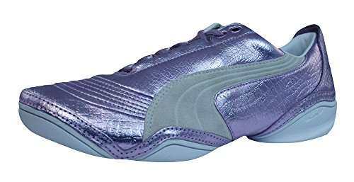 Chaussures De Exotic Violet Scattista Puma Cuir Baskets Femmes En qtz04