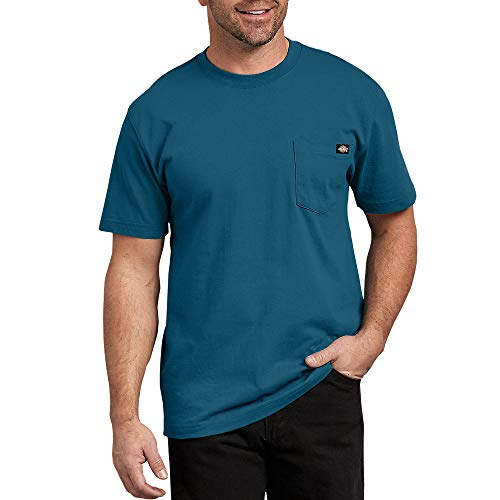 Dickies Men's Big and Tall Short Sleeve Heavyweight Crew Neck Pocket T-Shirt