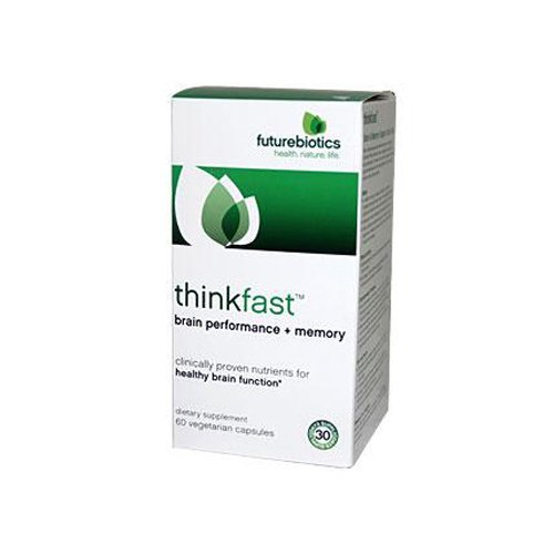 FutureBiotics ThinkFast 60 Vegetarian Capsules