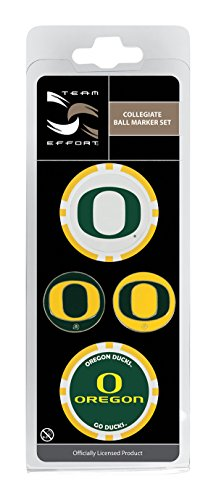 Team Effort Oregon Ducks Ball Marker Set