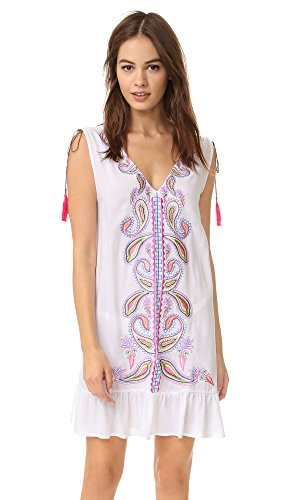 PilyQ Women's Amara Dress, Paisley, XS/S