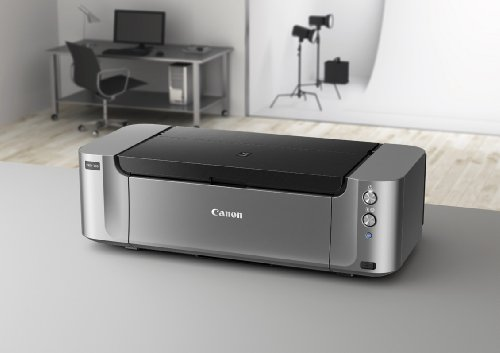 Canon PIXMA Pro-100 Wireless Color Professional Inkjet Printer with Airprint and Mobile Device Printing