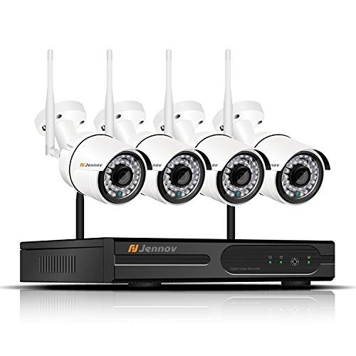 fdf66f1ac10 Jennov Security Camera System Wireless