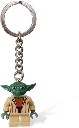 Lego Yoda Key Chain Keychain