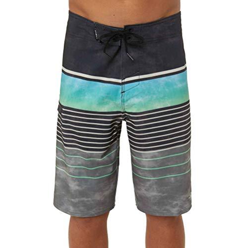 Oneill Kids Boys Shorts - O'Neill Kids Boy's Hyperfreak Heist Swim Shorts (Big Kids) Black 28 (Big Kids)