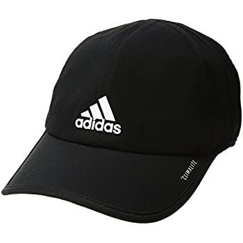 a41e4443 adidas Men's Superlite Relaxed Adjustable Performance Cap, Black/White, One  Size