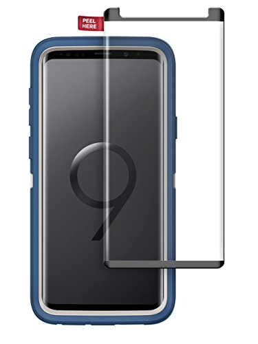 Encased Tempered Glass Screen Protector for Otterbox Defender Case - Galaxy S9 Plus (case not Included)