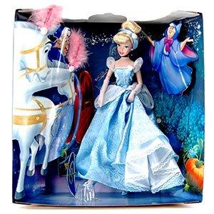 Disney Princess Cinderella Brass Key Porcelain Doll ()