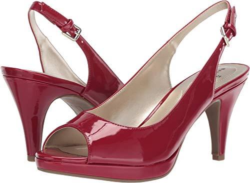 - Bandolino Womens Melt Medium Red Synthetic 6.5 M