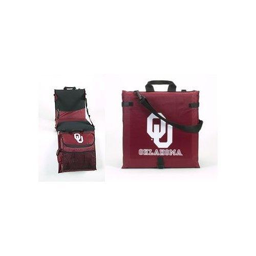 Oklahoma Cooler Tailgate (BSI Oklahoma Sooners Bleacher Tailgate Cooler Seat Cushion)