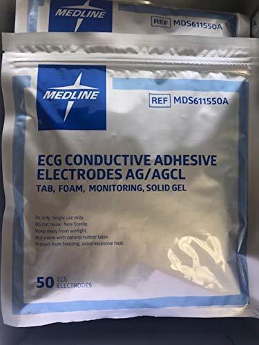 - Multi-Procedure Monitoring Electrodes - Foam, monitoring, solid gel, 50 pack - 600 Per Case - Model MDS611550