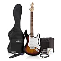 LA Electric Guitar + Amp Pack Sunburst