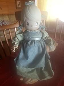 Amazon.com: Retired Precious Moments 1983 Mother Sew Dear Rocking Chair Doll: Home & Kitchen