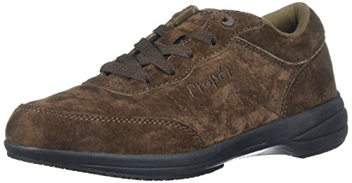 (Propet Women's Washable Walker Walking Shoe, sr Brownie, 7.5 M US)