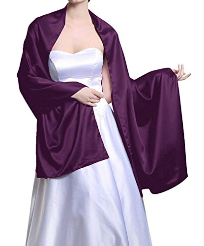 Satin Bridal Evening Shawls Scarves product image