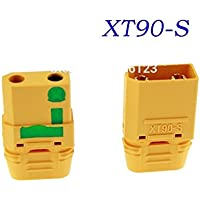 UUMART Amass XT90-S Connector Plugs Male Female 5 Pairs for FPV Drone Battery Connector