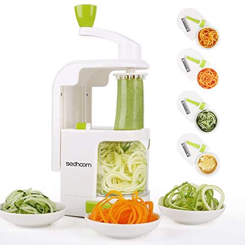 Sedhoom 4-Blade Spiralizer Vegetable