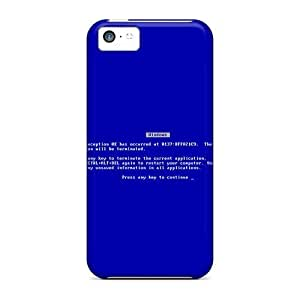 For LastMemory Iphone Protective Case, High Quality For Iphone 5c Fatal Error Skin Case Cover