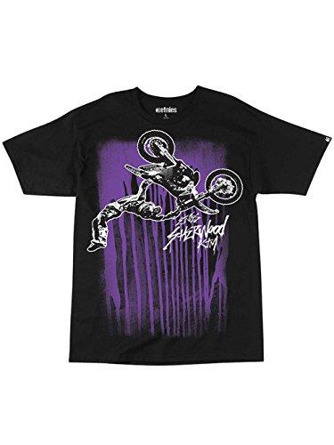 Etnies Skateboard T-Shirt Photo DRIP S/S TEE Youth Kids Black Size L - Etnies Kids T-shirt