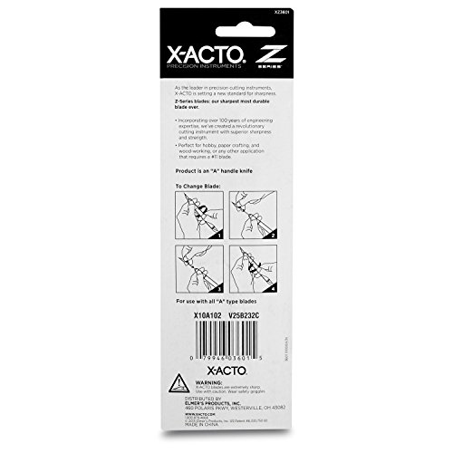 X-ACTO #1 Knife, Z Series With Safety Cap