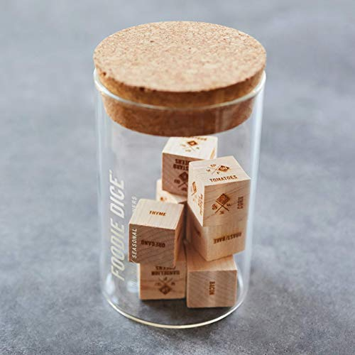 Foodie Dice® No. 1 Seasonal Dinners (tumbler) // Father's Day gift, gift for dad, foodie, couples, cooking or birthday gift