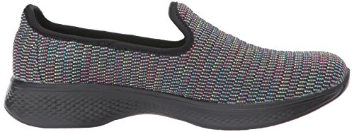 Femme Multicolore Walk Parent Noir Skechers Go Attraction Formateurs 4 S1gqwX