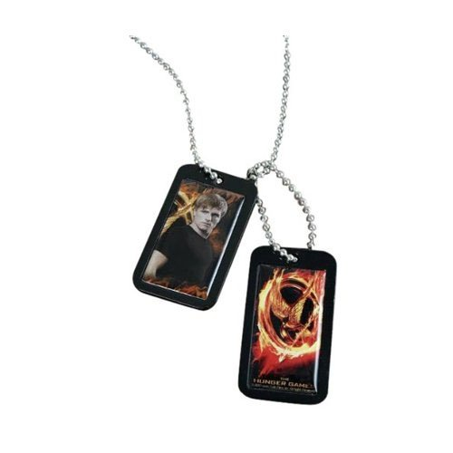 The Hunger Games Movie Epoxy Dog Tags Peeta