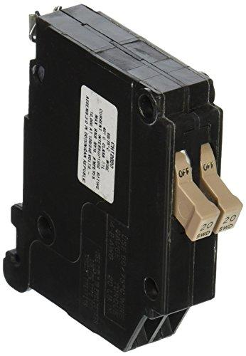 Eaton Corporation CH Twin CHNT2020 20 Amp Single Pole Replacement Circuit Breaker (Breaker Twin)