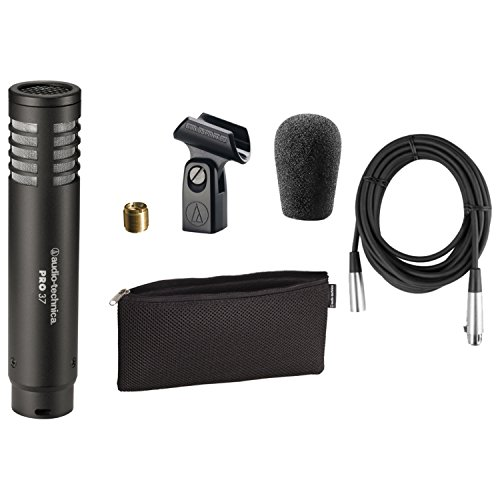 Audio Technica PRO37 End-address cardioid condenser microphone w/ XLR Cable -