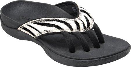 Casual Evo Wellrox Women's Wellness Zebra Cloud Sandals ZIwRHq