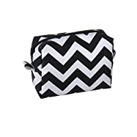 Harry D Koenig Cosmetic Bag, Chevron, Small