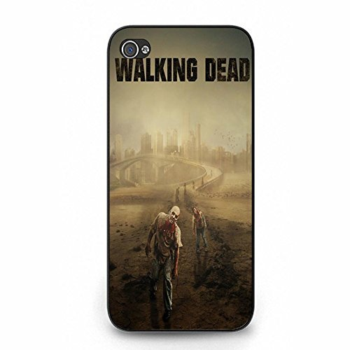 Custom Design The Walking Dead Phone hülle Handyhülle Cover for Iphone 5/5s,Telefonkasten SchutzHülle