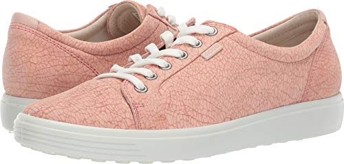 661 Leather - ECCO Women's Women's Soft 7 Sneaker, Muted Clay ROSATA/Rose dust, 35 M EU (4-4.5 US)