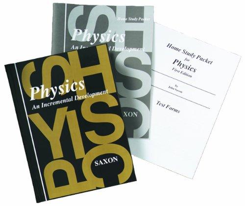 Saxon Physics: Homeschool Kit First Edition